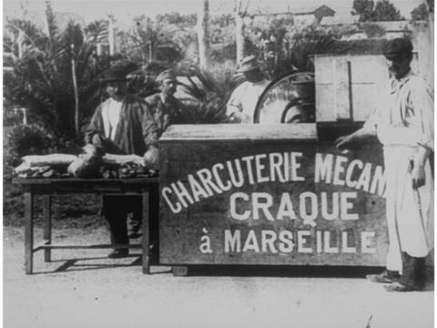 The Mechanical Butcher (La Charcuterie mécanique) 1895_Moment